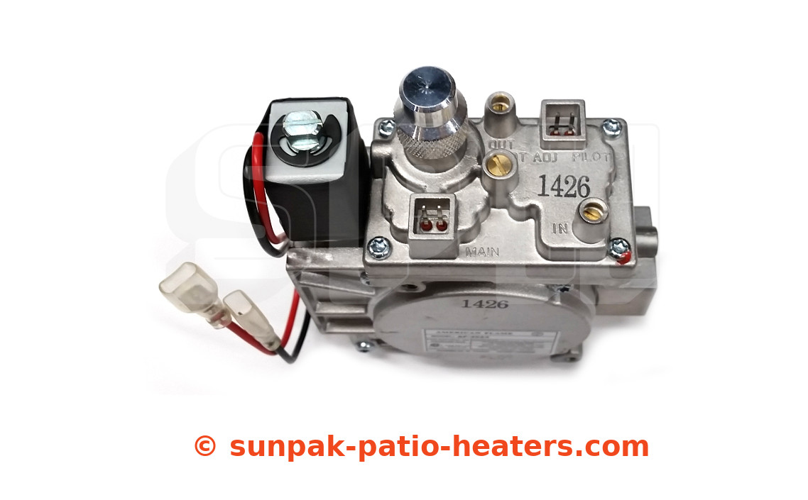 92001-1 TSR Gas Valve (Nat)